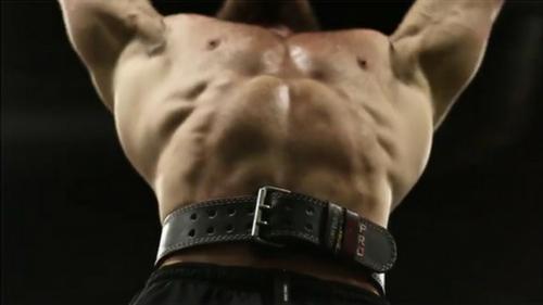 wearing a lifting belt